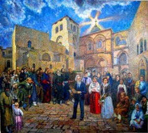xрам гроба репин персонажи иерусалим